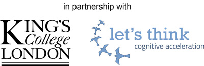 Image result for let's think logo