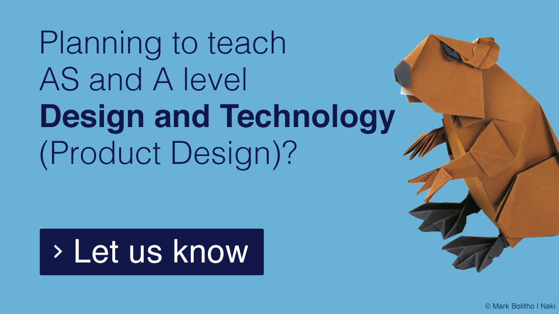 Design and Technology (Product Design) form
