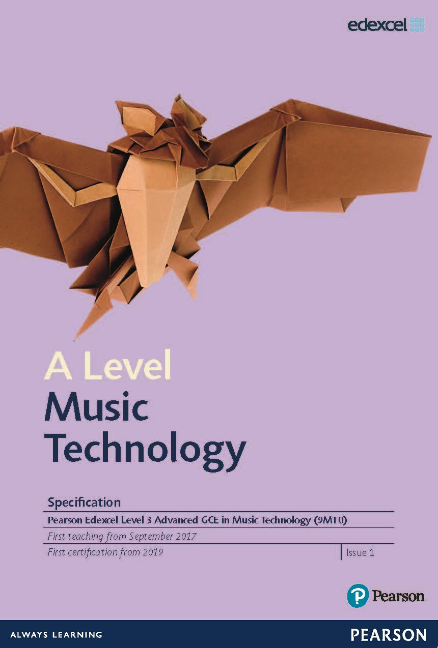 Link to A Level Music Technology specification page