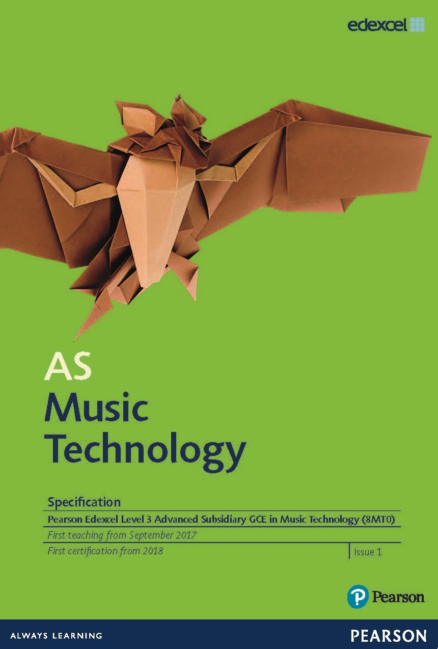 Link to AS Music Technology specification page