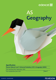 Link to AS Geography specification page