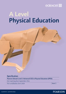 Link to A level Physical Education specification page