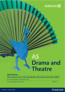 Link to AS Drama and Theatre specification page