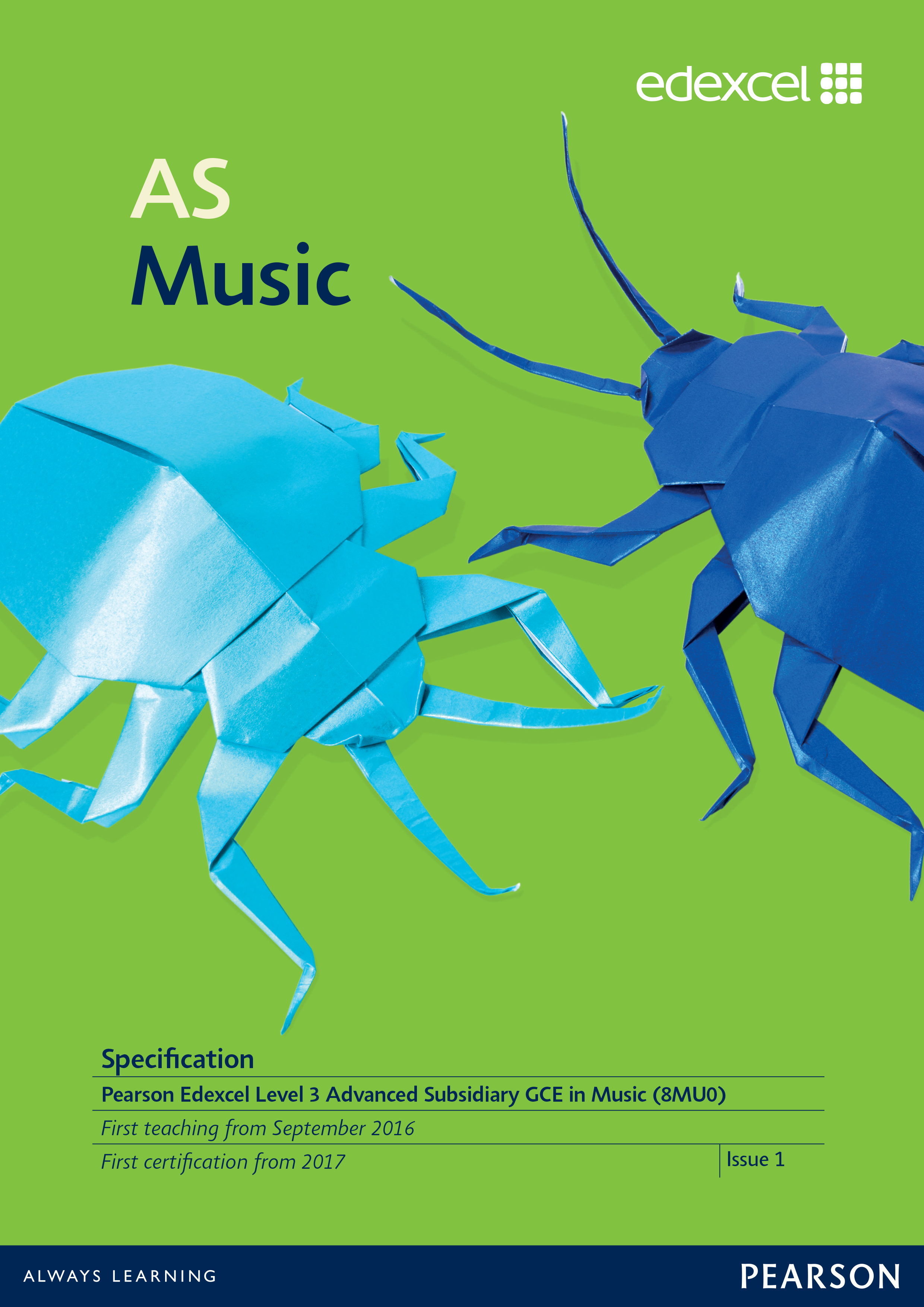 Link to AS Music specification page
