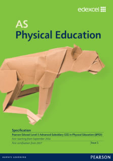 Link to AS Physical Education specification page