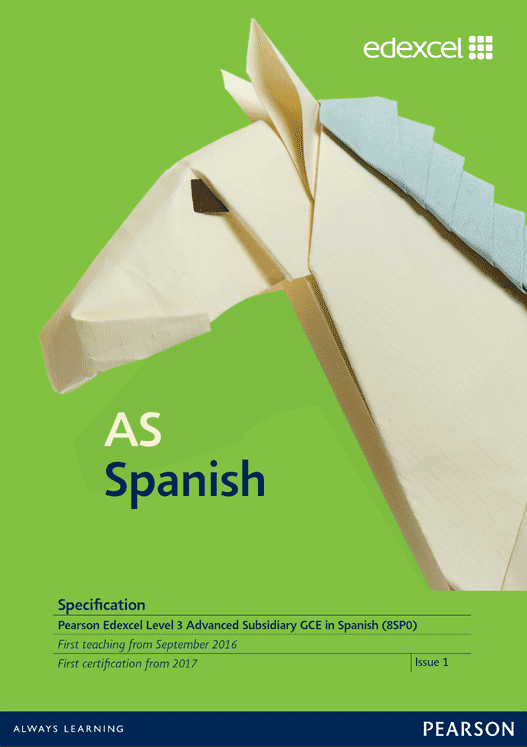 Link to AS Spanish specification page