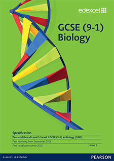 Link to Edexcel GCSE Sciences (2016) specification page