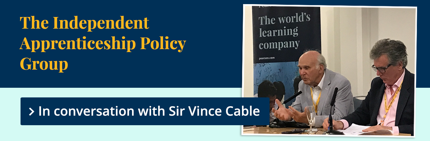 The IAPG in conversation with Sir Vince Cable
