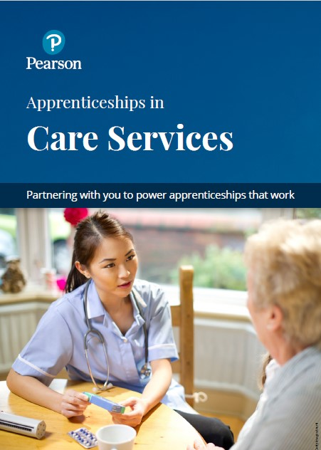 Care Services Apprenticeships brochure