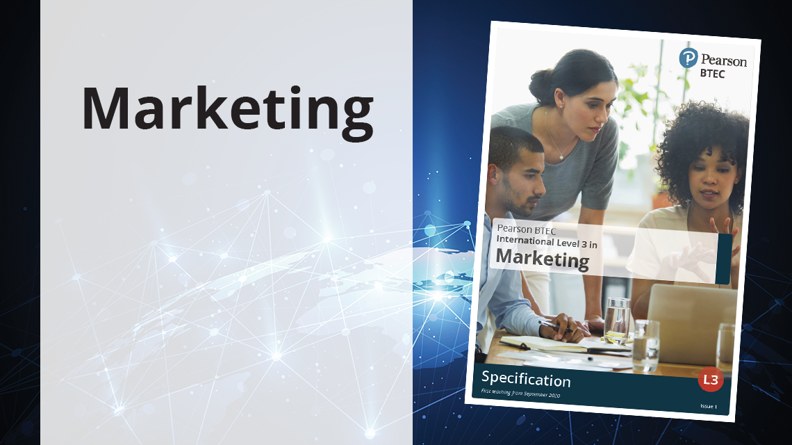 BTEC International Level 3 in Marketing