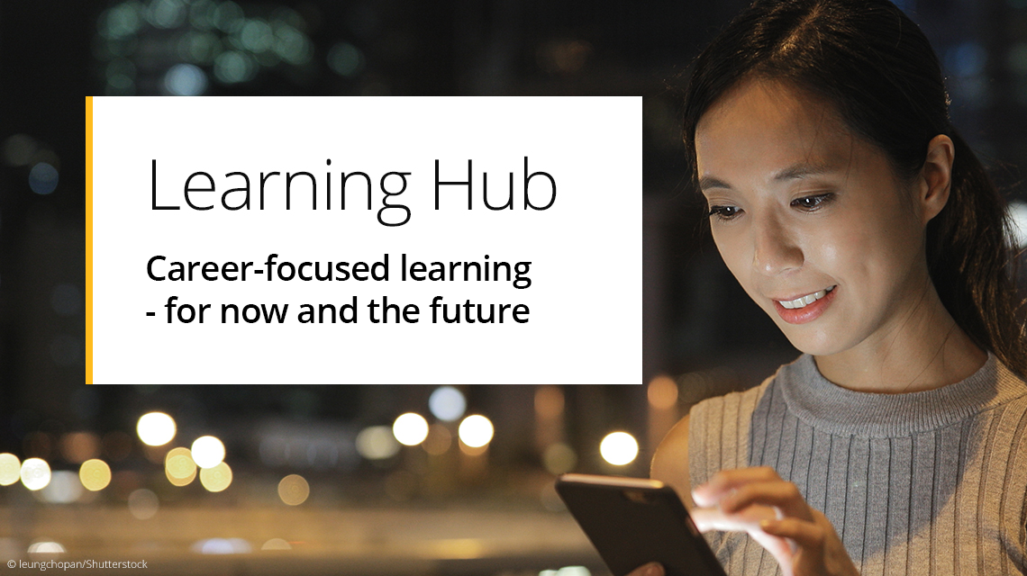 Learning Hub - Career & skill-focused digital learning solutions
