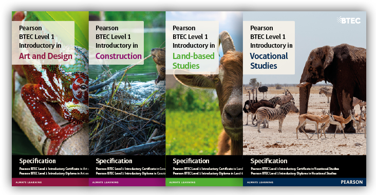 Btec Level 1 Art And Design Pearson Qualifications