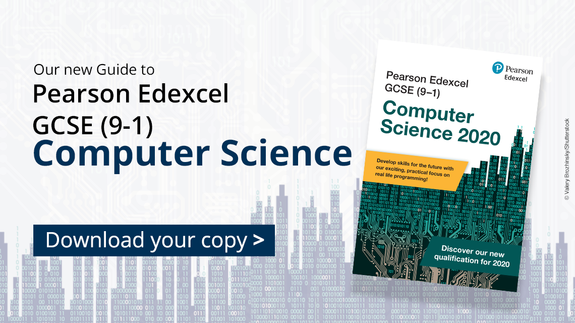 GCSE Computer Science subject guide banner