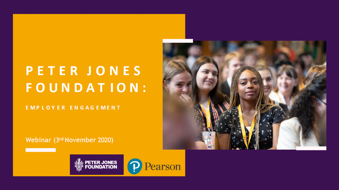 Peter Jones Foundation: Embedding Enterprise