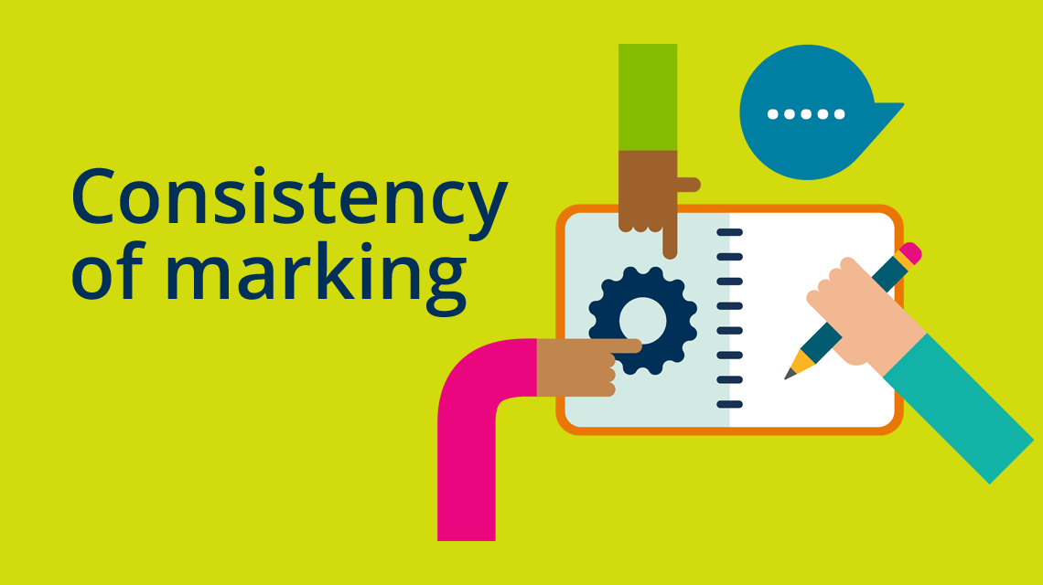 Consistency of marking
