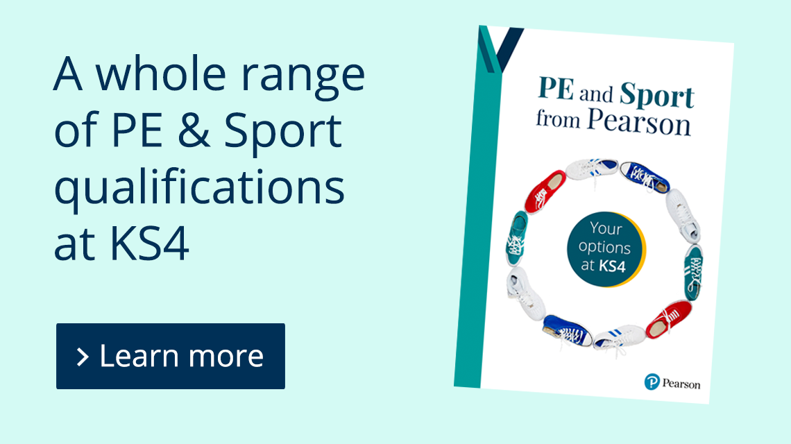 A whole range of PE & Sport qualifications at KS4. Learn more