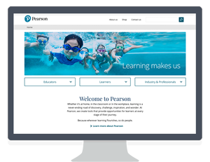 New Pearson UK website