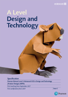 Edexcel As A Level Design And Technology Product Design 2017
