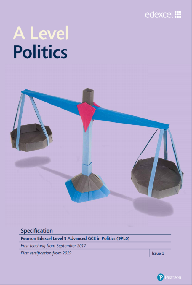 A level politics specification