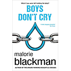 Boys Don't Cry by Malorie Blackman cover