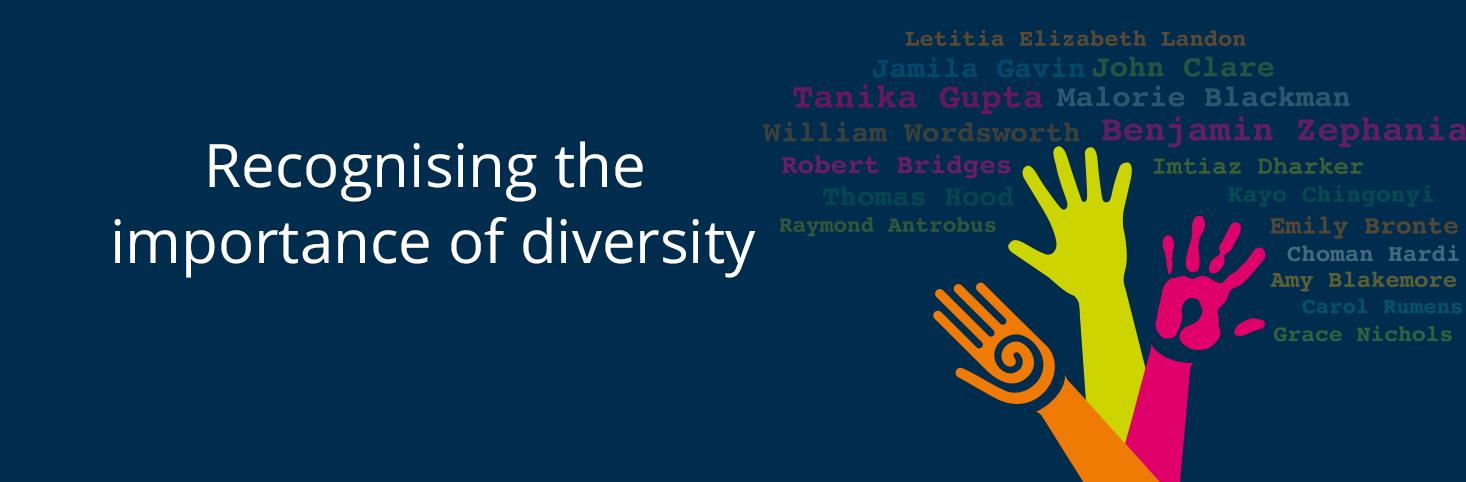 Recognising the importance of diversity in literature
