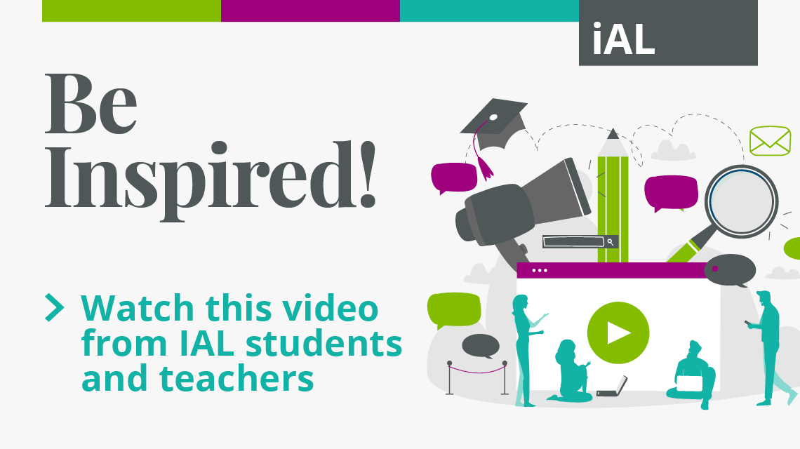 Watch this video from IAL students and teachers