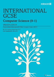 Edexcel International GCSE Computer Science 2017 specification