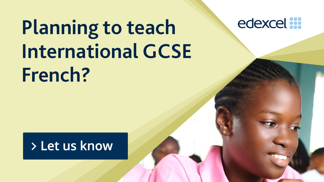 Planning to teach International GCSE French?