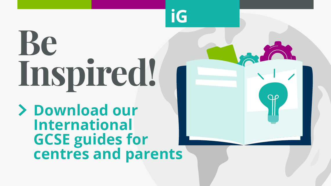 International GCSE guides for centres and parents