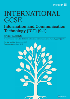 Edexcel International GCSE Information and Communication Technology specification
