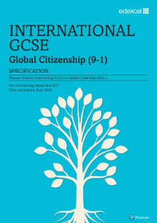 Edexcel International GCSE Global Citizenship 2017 specification