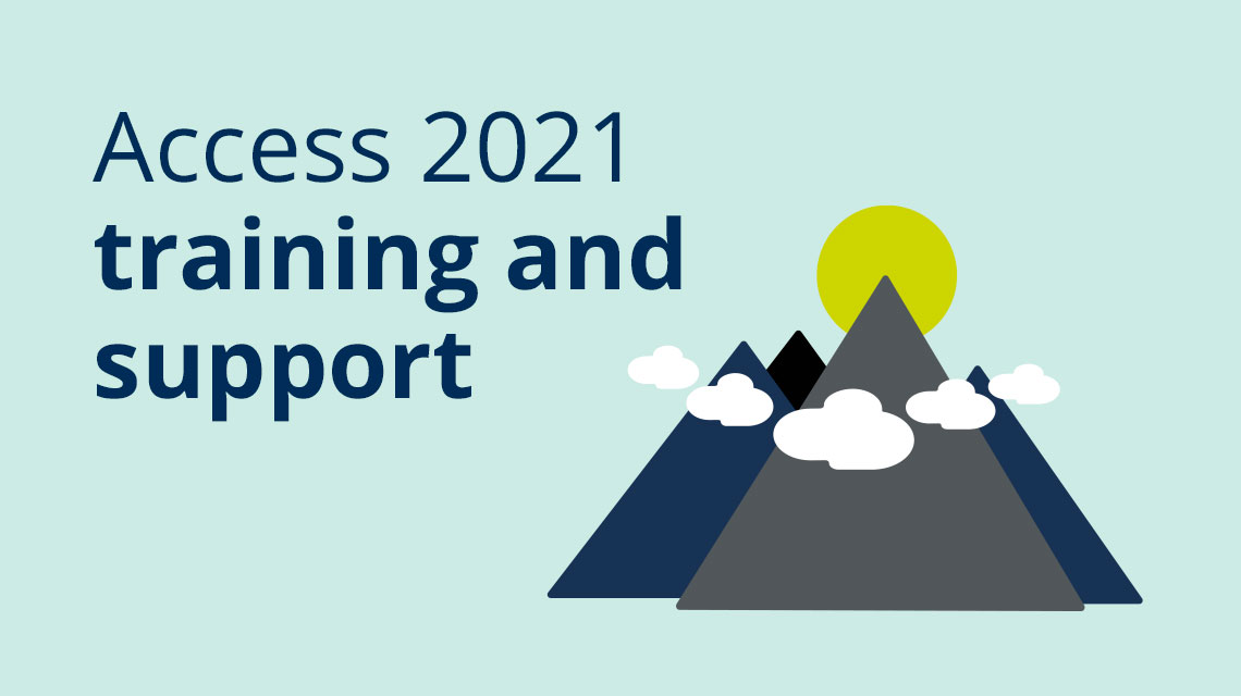 Access 2021 training and support