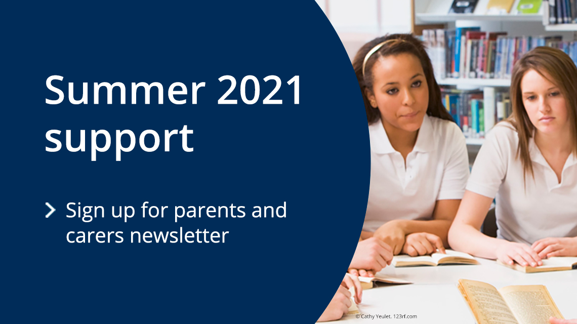 Sign-up for parents and carers newsletter