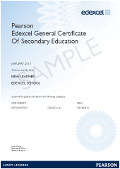 certification pearson qualifications