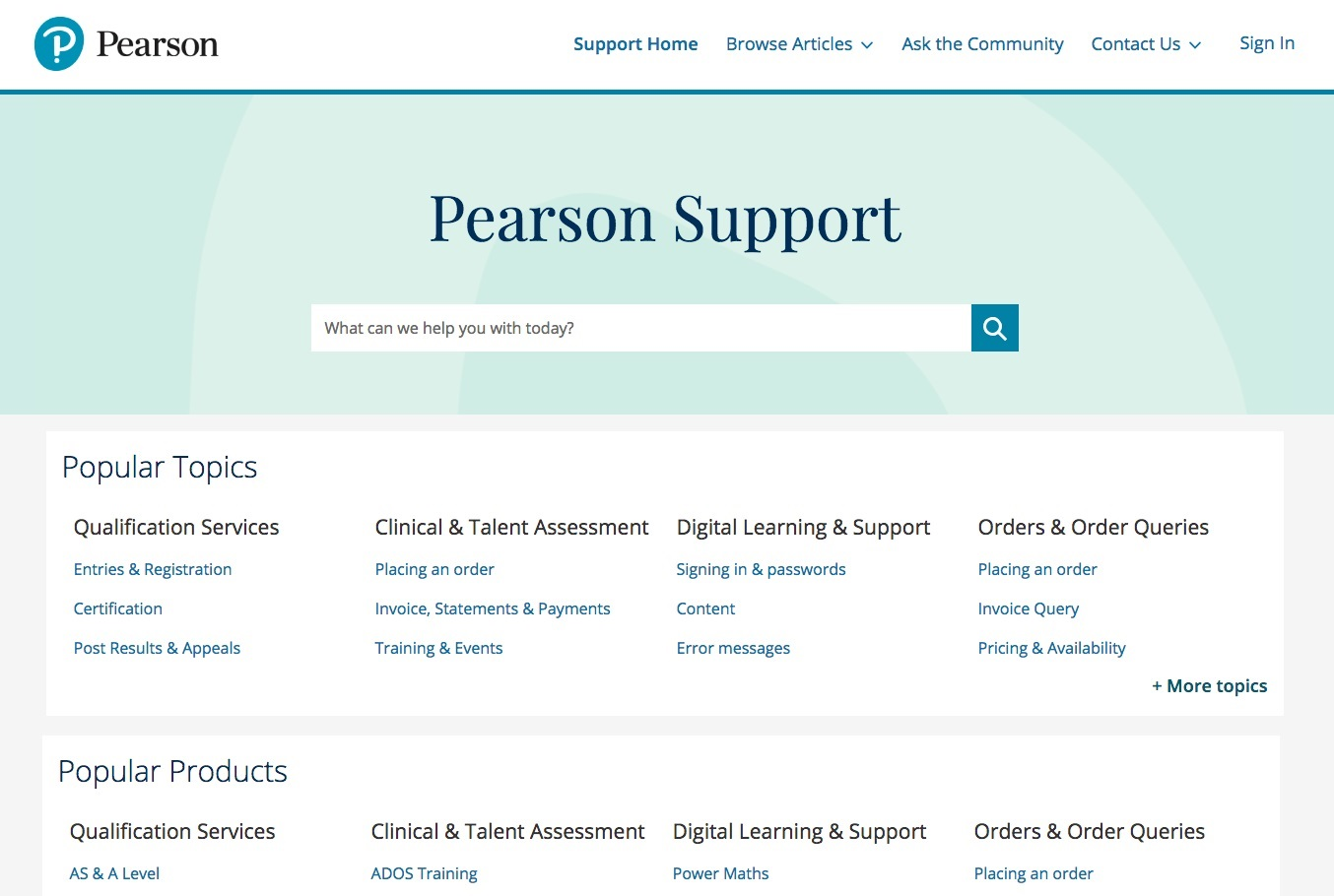 Contact us | Pearson qualifications