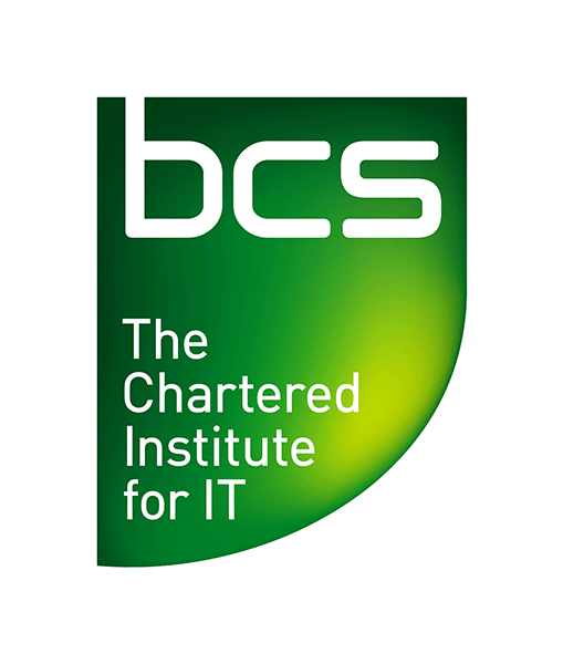 BCS - The Chartered Institute for IT logo and link to the BCS - The Chartered Institute for IT website