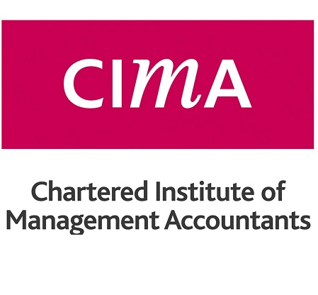 Chartered Institute of Management Accountants (CIMA) logo and link to the Chartered Institute of Management Accountants (CIMA) website
