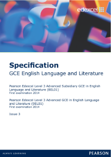 OCR English Literature A level cousework