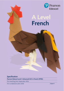 Specification - A level (French)