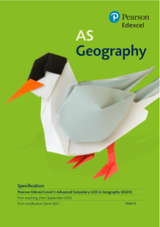 Edexcel AS Geography specification