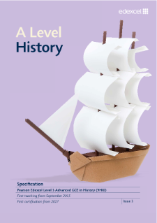 edexcel history gce coursework specification Wjec is a leading awarding organisation in the uk providing assessment, training and educational edexcel gce history coursework mark scheme resources in england, wales, northern ireland and elsewhere.