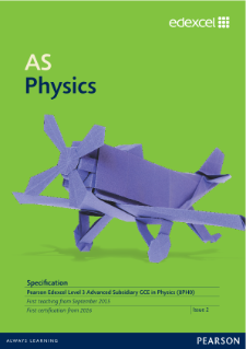 AS Physics 2015 specification
