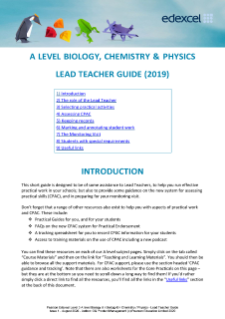 Edexcel AS and A level Physics 2015 | Pearson qualifications