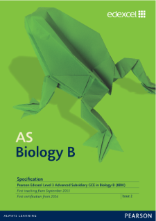 AS level Biology B 2015 specification