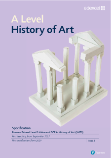 A Level History of Art specification