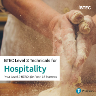 BTEC Level 2 Technicals for Hospitality course details