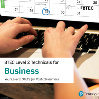 BTEC Level 2 Technicals for Business course details