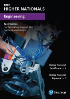 BTEC Higher National Diplomas in Engineering specification