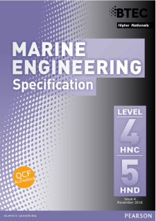 BTEC Higher National Diplomas in Marine Engineering specification