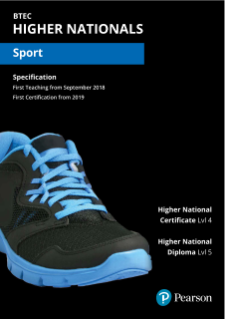 Cover picture of Sport specification